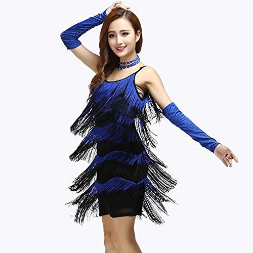 8ece2b7939d6 Blue Esame Gonna Danza Flessibile Xhtw Donna Abiti Elegante Nappa Di amp b  Vestito Festa Concorrenza red ...