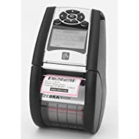 Zebra QLn220 Direct Thermal Mobile Printer, 2 print width, Bluetooth MFi Certified and Ethernet Interface, CPCL/ ZPL / XML Print Languages. Compatible with Apple iOS Devices P/N QN2-AUCA0M00-00