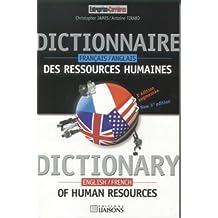 dictionnaire des ressources humaines f-a/a-f 3e ed.