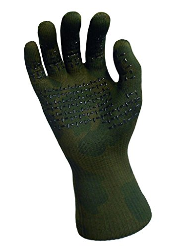 DexShell Waterproof Camouflage Gloves XL (Nylon Gloves Camouflage)