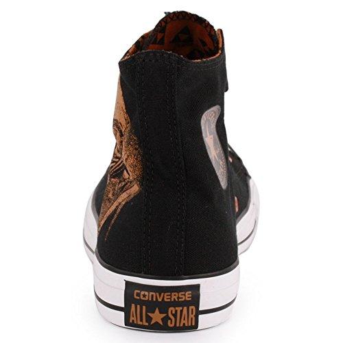 Converse Unisex Kastar Taylor Black Sabbath Sneakers Säga Aldrig Dör Svart (män 3 / Kvinnor 5)
