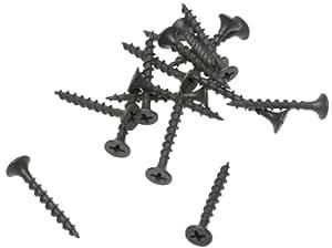 Grip-Rite 1-1/4-Inch #6 Coarse Thread Drywall Screw with Bugle Head, 1 Pound #114CDWS1