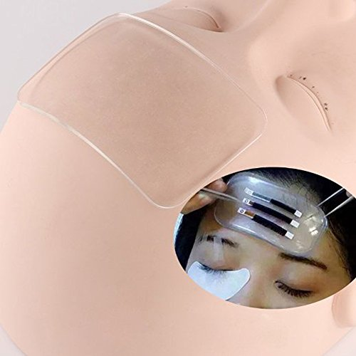 AORAEM Silicone Lash Pad Eyelash Extension Bulk Loose Lash Holder Eye Lash Tray Pallet Stand Base ()
