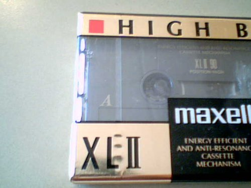 Maxwell XLII90 High Bias one cassette, 90 minutes Recording IEC Type II High