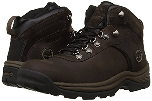 Timberland Men's Flume Waterproof Boot (10.5 D(M) US, Dark/Brown)