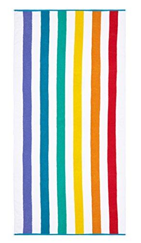 Plush Rainbow Beach Towel by Laguna Beach Towel Co.