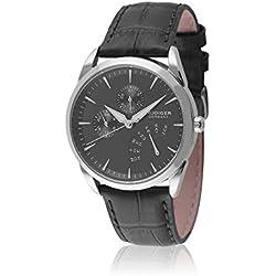 Rudiger Men's R3200-04-007 Hamelin Analog Display Quartz Black Watch
