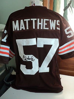 huge selection of f2694 b1325 clay matthews browns jersey