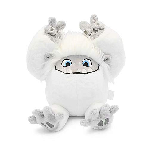 Yangzriver Abomi-nable Everest Soft Toy Cute Snow Monster Stuffed Animal Plush Toy Sleeping Super Soft Everest Yeti Doll Christmas Birthday Gift for Kids (Abominable Doll Snowman)