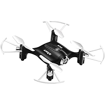 Cheerwing Syma X20 Pocket Drone 2.4Ghz Remote Control Mini RC Quadcopter with Altitude Hold and One Key Take-off / Landing Black