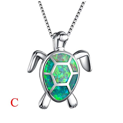 Australian Fire Opal Sea Turtle Earrings Rings Pendant Necklace 18