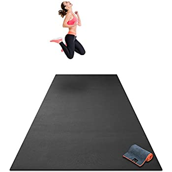 Amazon.com : Premium Extra Large Exercise Mat - 10' x 4' x