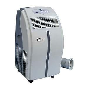 SPT WA-1230E 12,000-BTU Portable Air Conditioner with Remote Control