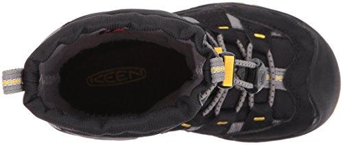 Keen Unisex-Kinder Winterport II WP Trekking-& Wanderstiefel Black/Gargoyle