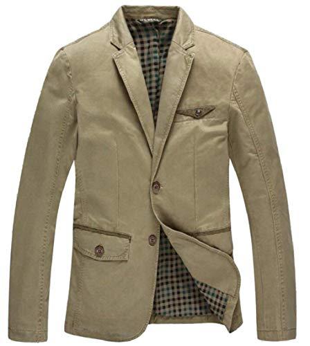 Fit Moderne Vintage Costume Revers Homme Longues Hommes 2 Men's Blazer Boutons Casua Manches Pour 3 Loisirs Vestes Slim Casual Colour xWRC0ttIcq