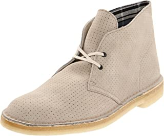 Clarks Men's Desert Boot,Grey Perforated,8 M US (B0058ZNNU6) | Amazon price tracker / tracking, Amazon price history charts, Amazon price watches, Amazon price drop alerts