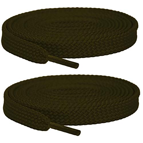 2Pair Flat Shoelaces 5/16