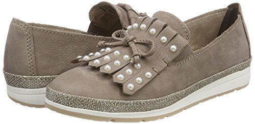 Mocasines Mujer taupe Beige Marco Tozzi Para 24601 Premio qaOfp