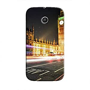 Cover It Up - Big Ben Time Lapsed Moto E Hard Case