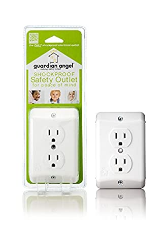 Safety 1st Childsafe Double Touch Plug and Electrical Outlet Covers  6 pack