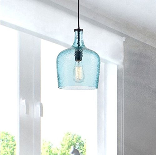 Mouth Blown Glass Pendant Light in Florida - 3