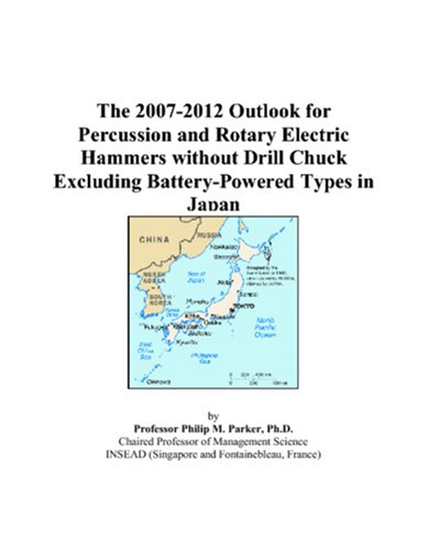 The 2007-2012 Outlook for Percussion and Rotary Electric Hammers without Drill Chuck Excluding Battery-Powered Types in Japan ()