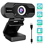 PC Webcam, TedGem 1080P Full HD Webcam USB Desktop & Laptop Webcam Live