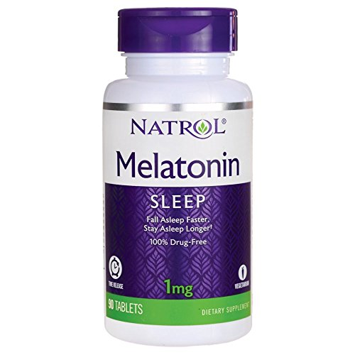 Amazon.com: Melatonin Time Release 1 Milligrams 90 Tabs: Natrol: Health & Personal Care