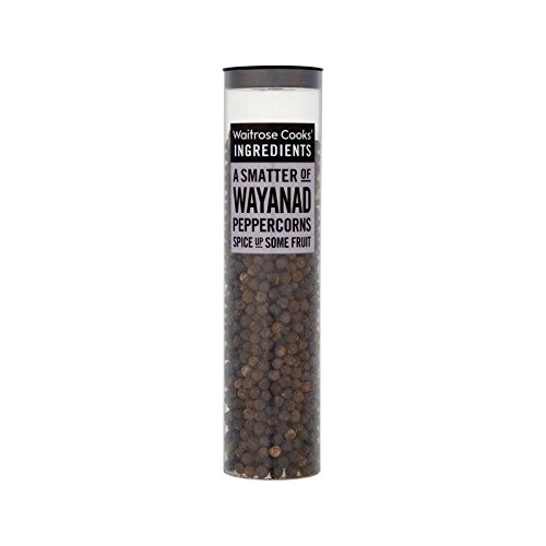 Cooks' Ingredients Wayanad Peppercorns Waitrose 80g - Pack of 2