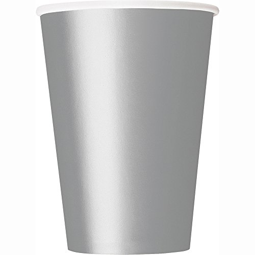12oz Silver Paper Cups, 25ct