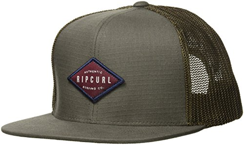 - Rip Curl Men's Patch Trucker Mesh Hat, Stanley Army, 1SZ