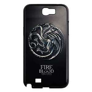 Game of Thrones Samsung Galaxy N2 7100 Cell Phone Case Black zie rvov