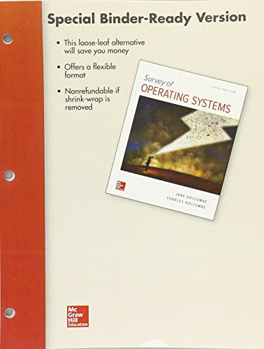 Looseleaf for Survey of Operating Systems, 5e by McGraw-Hill Education