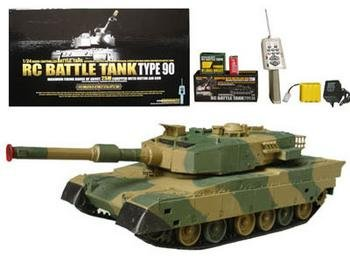 German Leopard II A5 Main Battle Tank RC Airsoft Radio Control 1/24 MBT ()