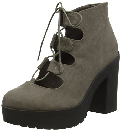 New Look Stone - Botines Mujer Gris