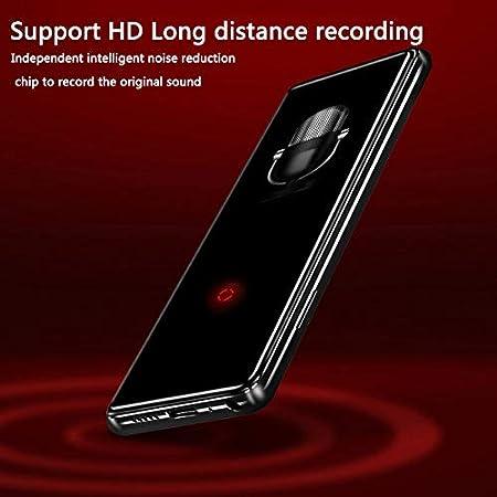 BEESCLOVER - Reproductor de música MP3 portátil con Bluetooth y Reproductor de vídeo con Altavoz y Radio FM