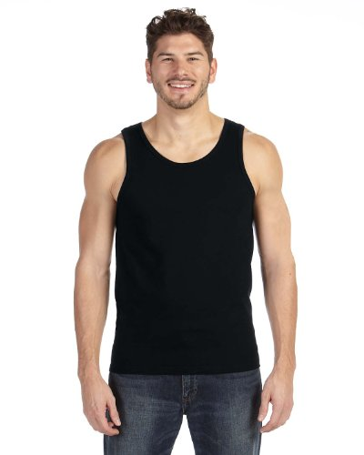 (Anvil Lightweight Tank, Large, BLACK )