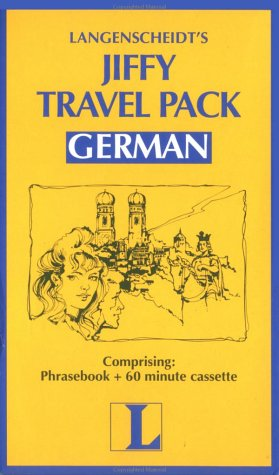 Jiffy Travel Pack German (Book & Cassette Edition)