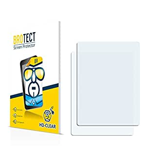 2x BROTECT HD-Clear Protector Pantalla Sony Ericsson W705 Película Protectora – Transparente, Anti-Huellas