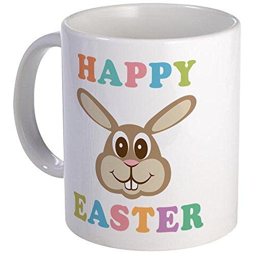 (CafePress Happy Easter Bunny Mug Unique Coffee Mug, Coffee Cup)