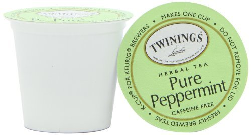 Twinings Pure Peppermint Tea, K-Cup Portion Pack for Keurig K-Cup Brewers, 72 Count