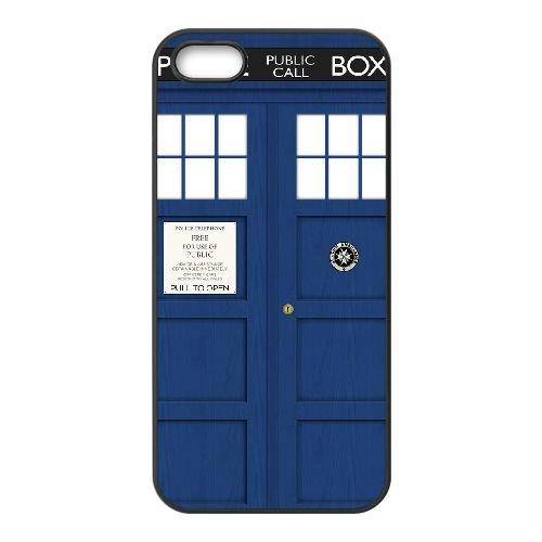 Doctor Who 008 coque iPhone 4 4S cellulaire cas coque de téléphone cas téléphone cellulaire noir couvercle EEEXLKNBC24643