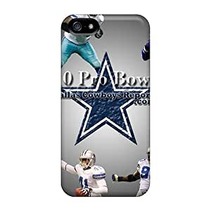 Durable Protector Case Cover With Dallas Cowboys Hot Design For Iphone 5/5s