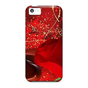Special BJBcke Skin Case Cover For Iphone 5c, Popular Chocolates A Red Rose Phone Case