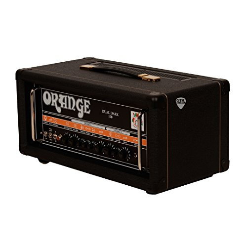 Orange Dual Dark 100 100/70/50/30W, Class A/B 2-channel High Gain Tube Head