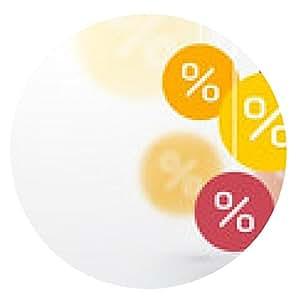 alfombrilla de ratón descuentos símbolo de porcentaje y el icono de la falta de definición sobre un fondo - ronda - 20cm