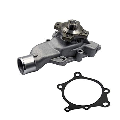 MAXFAVOR Water Pump for 1999-2006 Jeep Grand Cherokee TJ and Wrangler Vin S L6-4.0L(AW7164 Replacement) ()