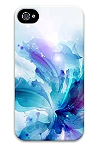 Cute colorful flower Design Protective Back Case Cover for iPhone 4 4s