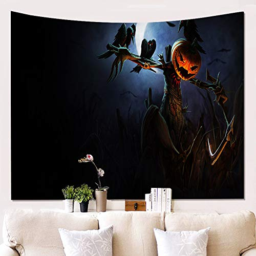 Halloween Ab Exercises (ZQQ Halloween Wall Hangings, Tapestries,Boho Bedding Beach Throw Blanket White Golden Bedspread Meditation Yoga Mat Rugs Throw-A,)