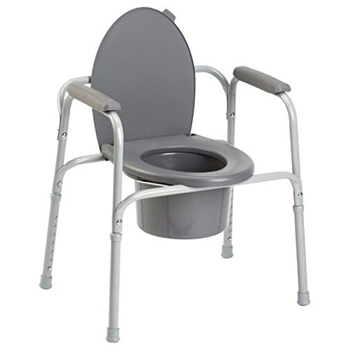 Invacare All in One Commode, Aluminum